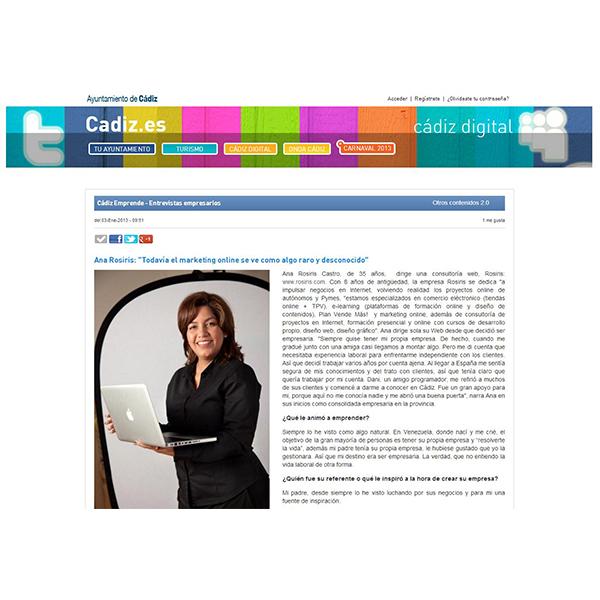 Entrevista Cádiz Digital