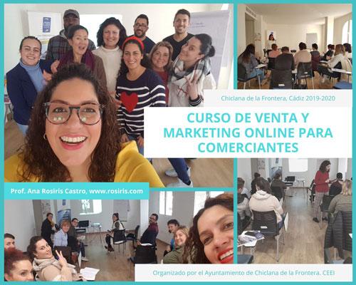 Curso Chiclana de Venta Online y Marketing Online Ana Rosiris