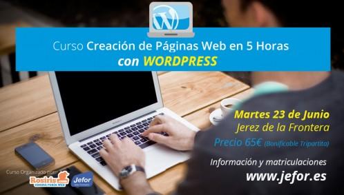 Curso Presencial de WordPress en Jerez