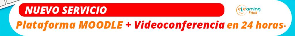 Servicio de plataforma de formación con videoconferencia