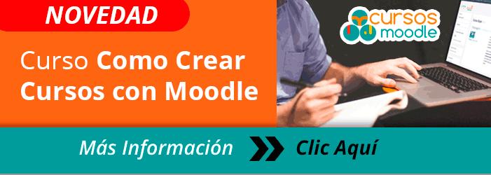Curso Como Crear Cursos con Moodle