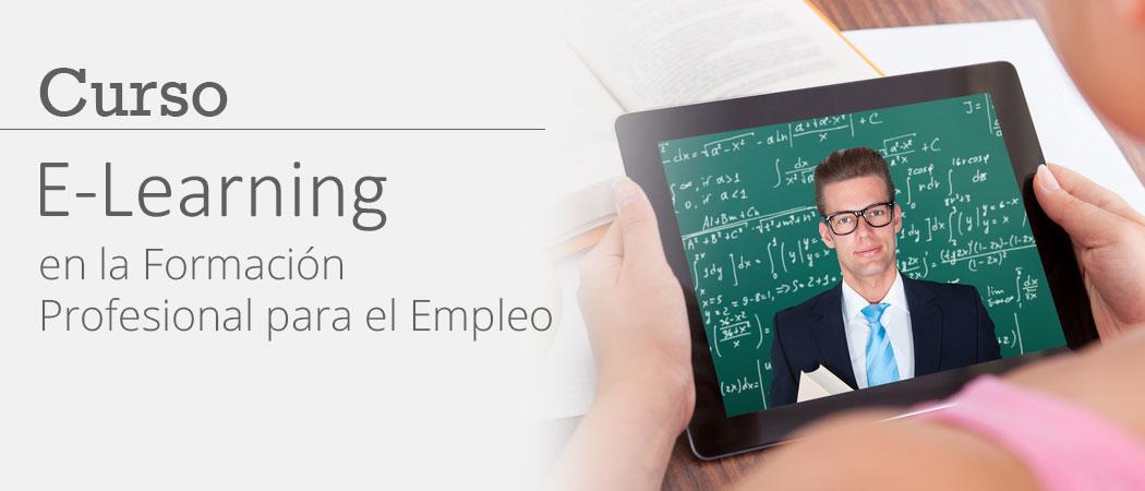 Curso e-Learning en la Formación Profesional para el Empleo FPE