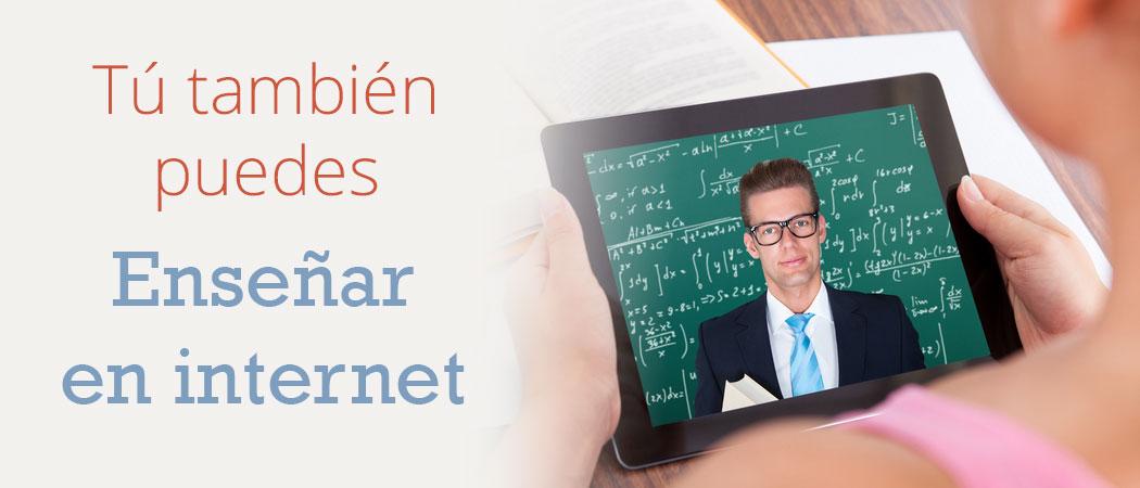 Tu también puedes enseñar en internet. Plataformas y cursos de formación