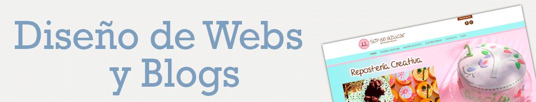 Trabajos realizados de Diseño de Páginas webs y blogs