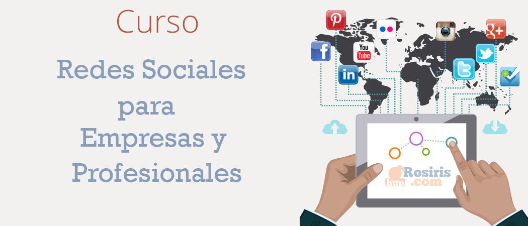 Curso: Redes Sociales para Empresas y Profesionales