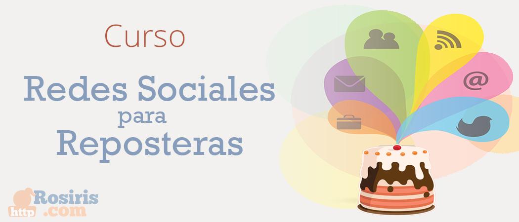 Curso Redes Sociales para Reposteras
