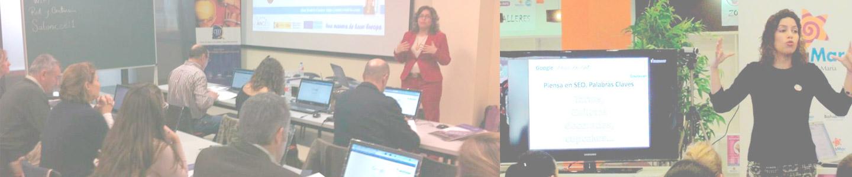 Profesora de marketing online, ecommerce, comercio electrónico, diseño web