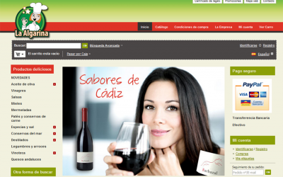 Sabores de Cádiz tienda online