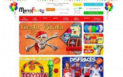 Mercafiesta Diseño de tienda online