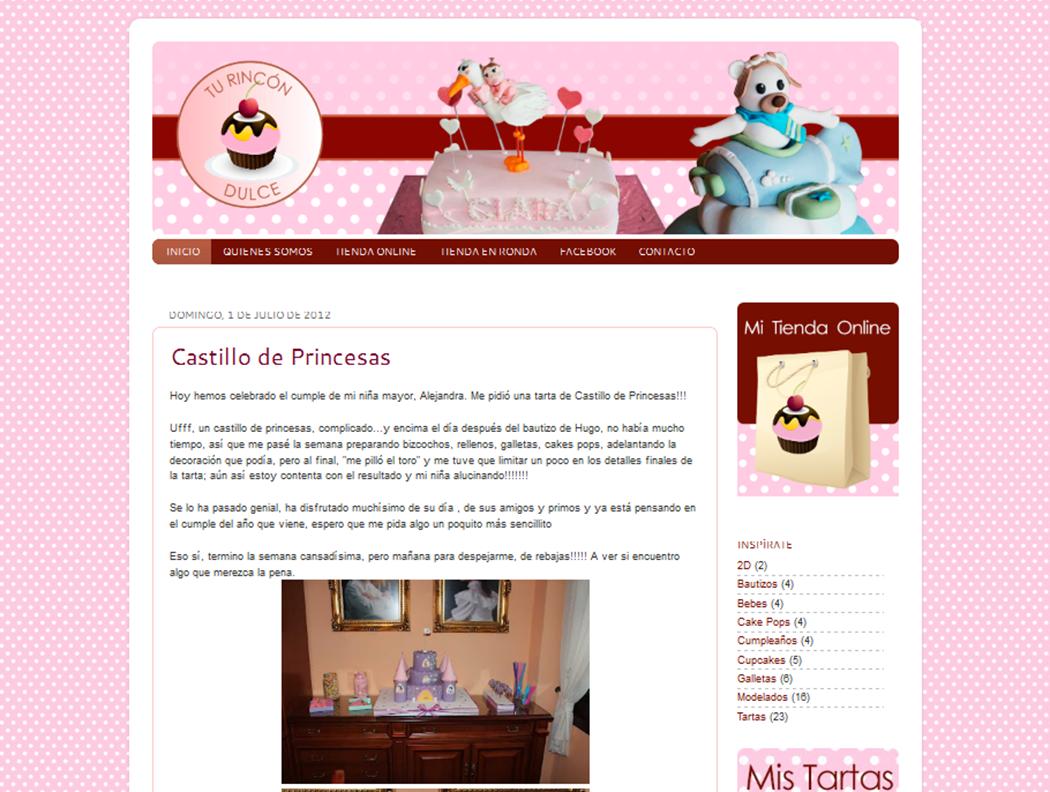 Diseño de plantilla personalizada para Blogger. Rediseño blog Tu ...